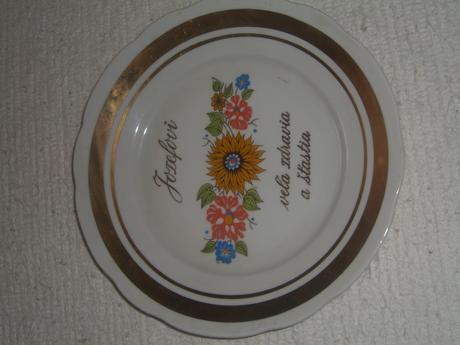 Ozdobný tanier k meninám- Jozef,