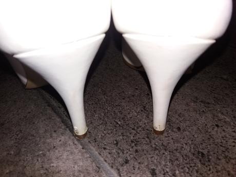 Bílé botky pro nevěstu/svědkyni/maminky , 36
