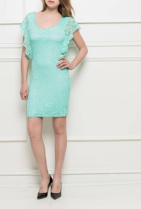 čipkové šaty, 38