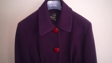 Fialový kabátik, 38