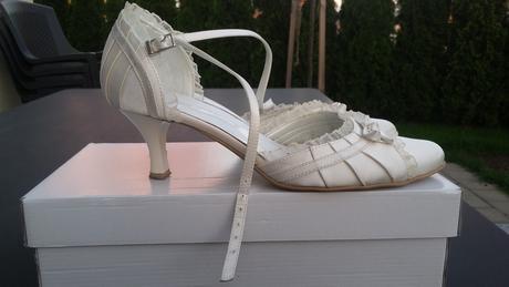 Svatební boty šampaň vel. 39, 39