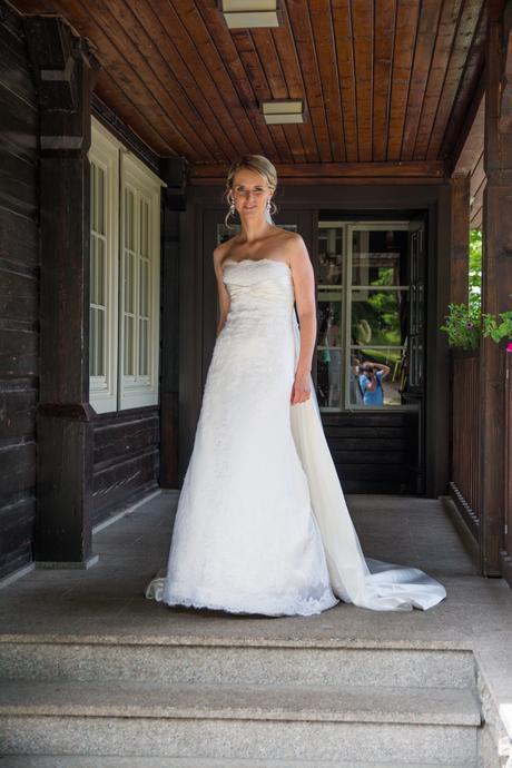 Svatební šaty St.Patrick Pronovias - model Enea, 38