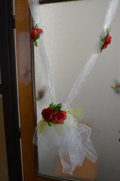Stuha s růžemi,