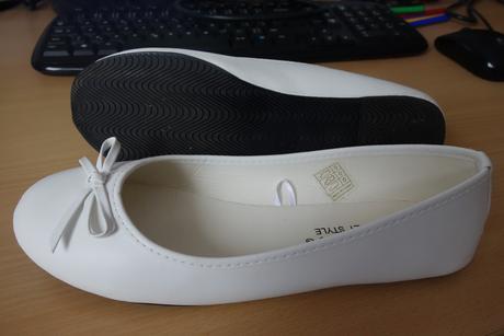 Balerínky - bílé, 39