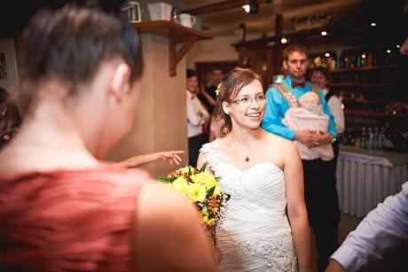 svatební šaty - ivory, vel. 38, 38
