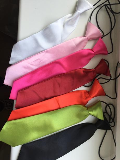 Dětské kravaty na gumičce,