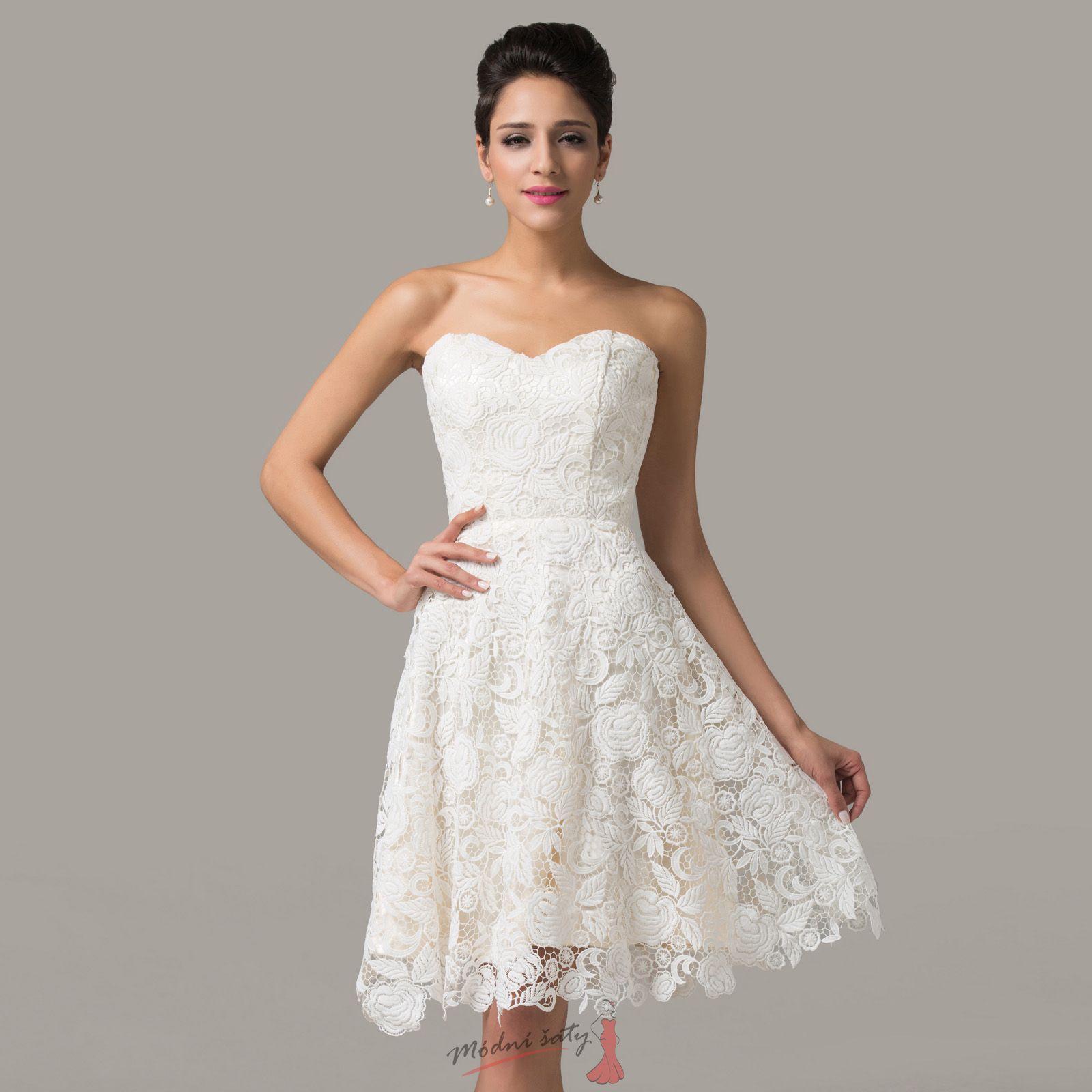 dffdd3d3e8e8 Krátké krajkové šaty