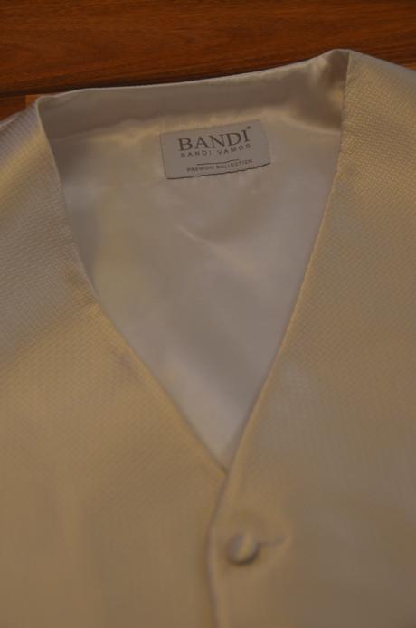 Svatební set Bandi vesta+regata+kapesníček, 48