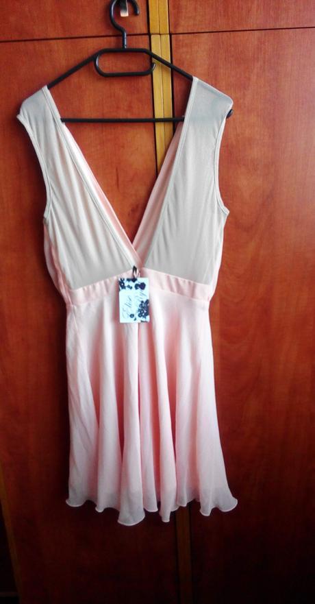 marhuľkové šaty S/M, M