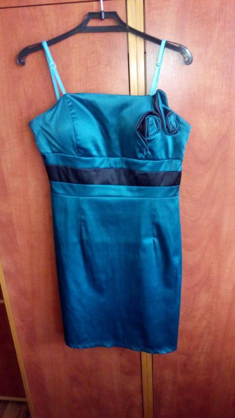 Smaragdové šaty (M/L), L