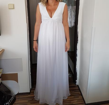 Nepouzite tehotenske svatebni saty, 42