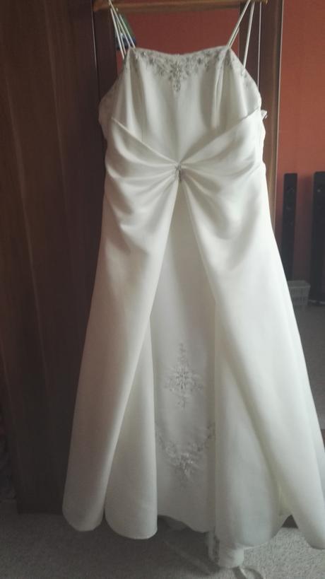 Svatební šaty vel. 46-48, 48