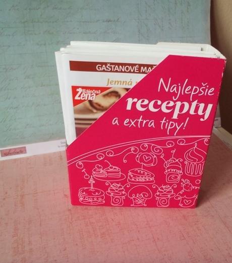 10 x knižka s receptami zo zakladačom,