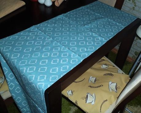 2 x behúň na stôl,