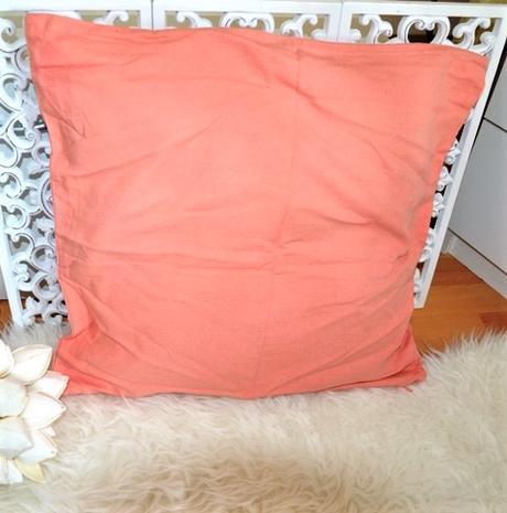 2 x oranžová obliečka na vankúš,