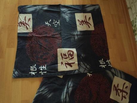2 x súprava obliečok na posteľ-hieroglify,