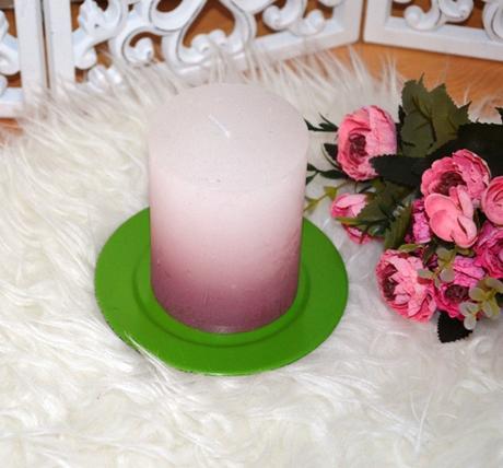 2 x tanierik pod sviečku,