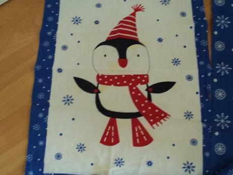 2 x vianočná utierka+chňapka,