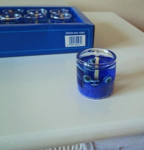 9 ks vonných gélových sviečok-Kemer,
