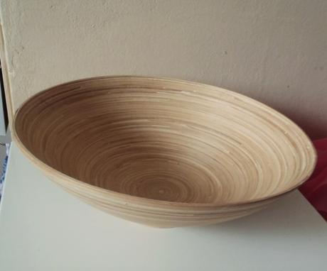 bambusová misa,