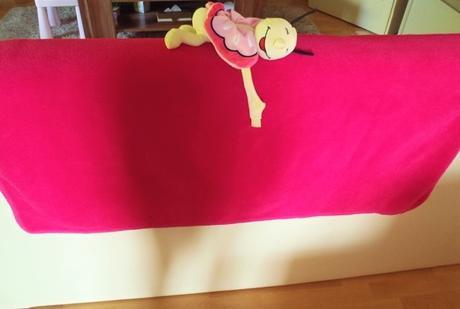 deka pre dievčatko s motýlikom,