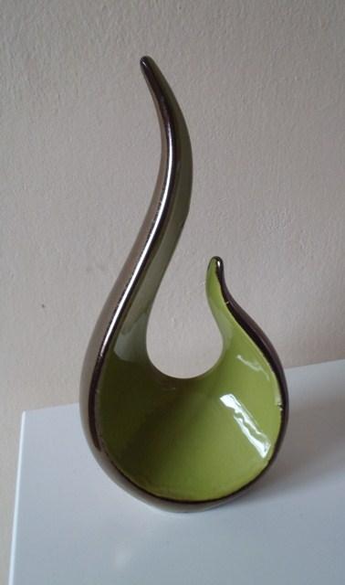 dekorácia-zelená špirála,