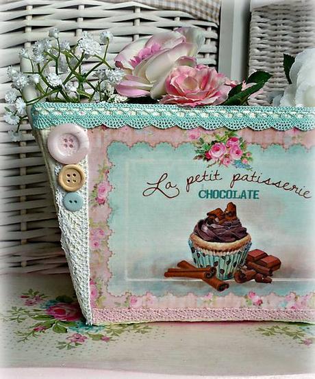 dekoračný muffinkový košík,