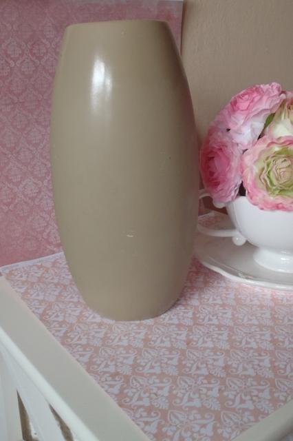 hnedá vysoká váza-výška 26cm,