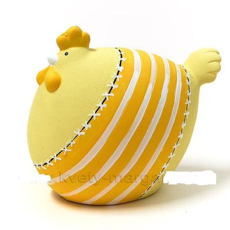 jarná žltá sliepočka ,