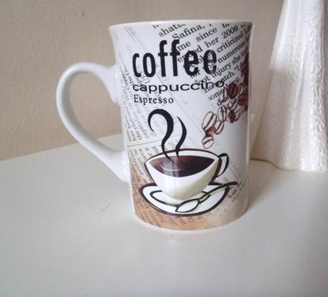 šálka coffee,