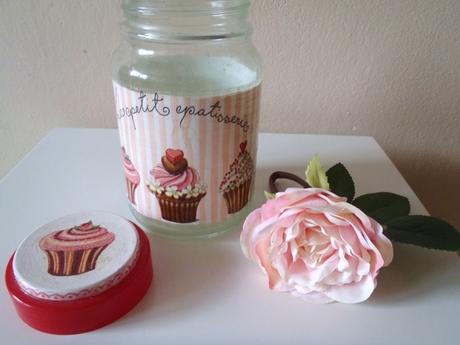 sklenená dóza-muffin,