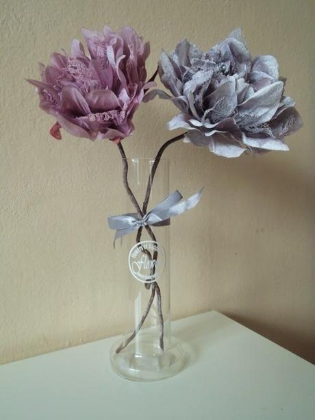 sklenená váza,