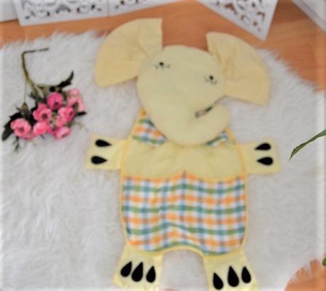 textilný kapsár-slon,