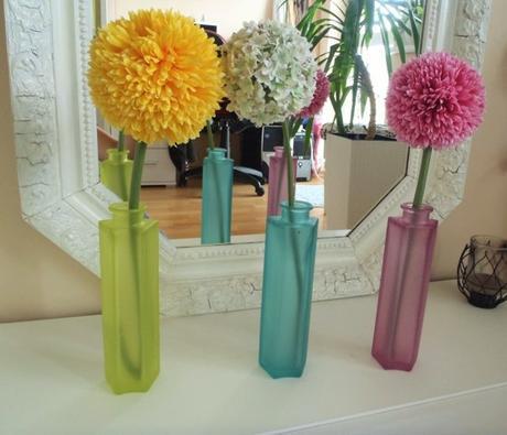 tirkys sklenená váza,