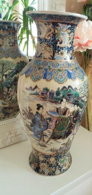 veľká čínska váza-58cm,