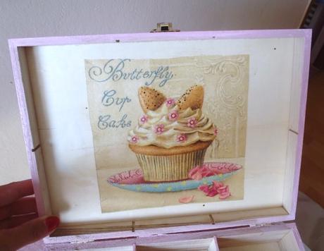 veľká muffin krabica na čaj,