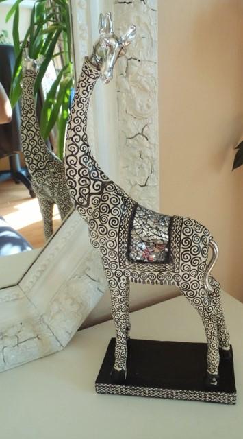 vysoká dekorácia-žirafa-výška 38cm,