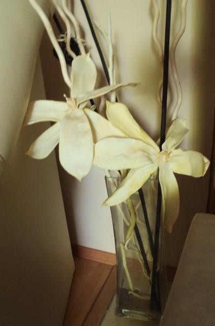vysoký penový kvet,výška 86cm,