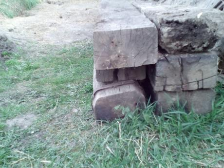 Súrne - drevenné železničné podvaly / prazce,