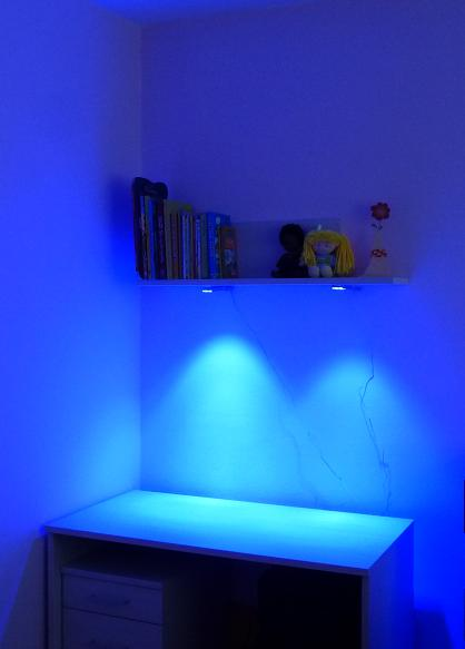 osvetlenie nábytku,