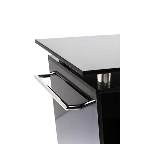 Bar Lady Rock Trolley Black,