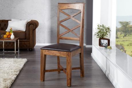 Jedálenská stolička Solid Natur,