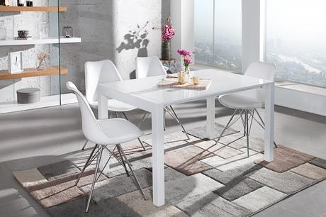 Jedálenský stôl Bolei X White,