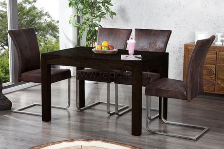 Jedálenský stôl Laose Negro 120,