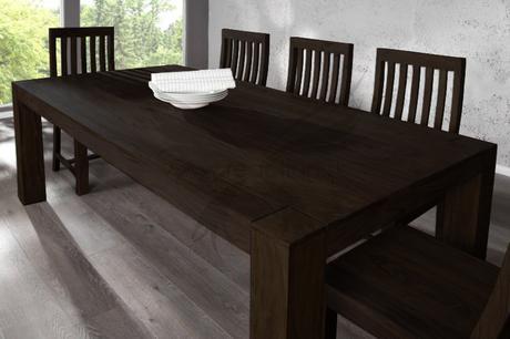 Jedálenský stôl Romeo Negro Dinning Middle,