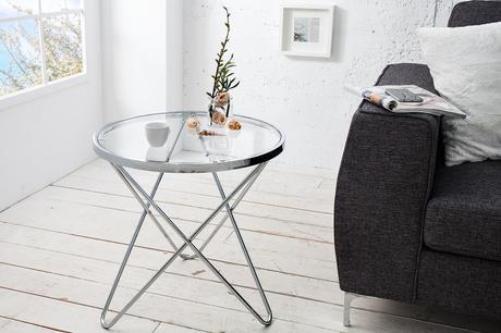 Konferenčný stolík Pont Silver Small,