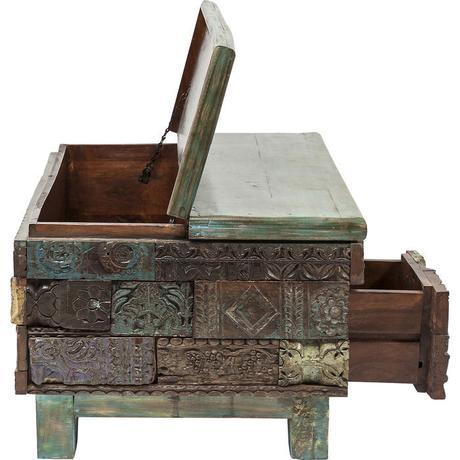 Konferenčný stolík Shanti Surprise Puzzle,