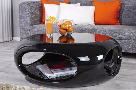 Konferenčný stolík Ufo Black Small,