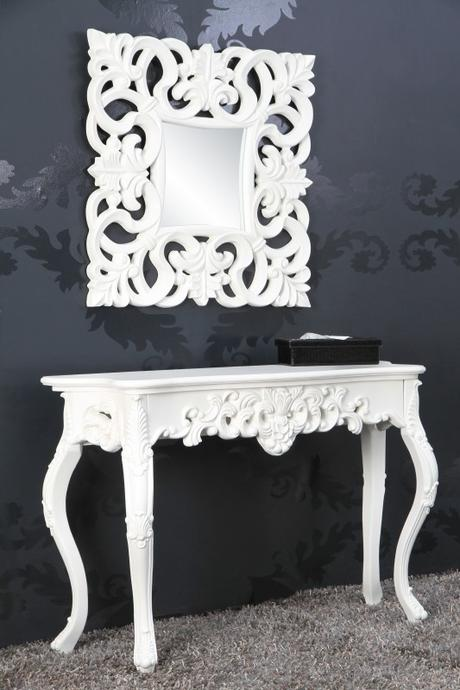 Konzola Venice White,