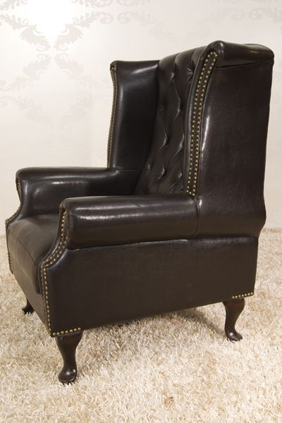 Kreslo Chesterfield Old Brown,
